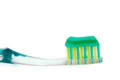 tandborstetoothpaste royaltyfria bilder