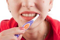tandborstning Royaltyfri Bild
