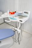 Tandbureau, medische apparatuur Stock Foto