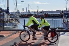 Tandem bicycle Royalty Free Stock Image