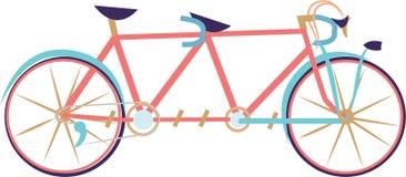Tandem Bike Royalty Free Stock Photos