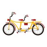 Tandem cykel Royaltyfria Foton