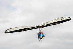 Tandem Hang Gliding Stock Photography