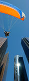 Tandem parachute Stock Images