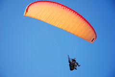 Tandem paraglider Stock Photography