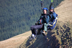 Tandem Paraglider Stock Photos