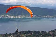Tandem Paraglider Royalty Free Stock Images
