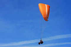 Tandem Paraglider Stock Photo