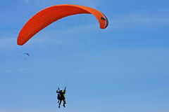 Tandem Paraglider Royalty Free Stock Photo