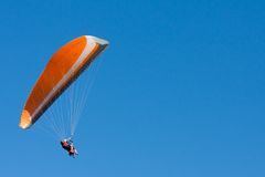 Tandem Paragliders Royalty Free Stock Images