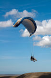 Tandem paragliding Royalty Free Stock Image