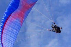 Tandem Paragliding Royalty Free Stock Image