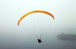 Tandem paragliding - Oludeniz / Fethiye Royalty Free Stock Images