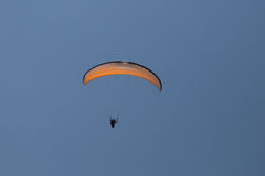 Tandem Paragliding Royalty Free Stock Photography