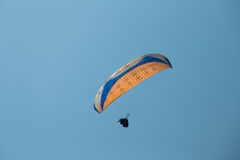 Tandem Paragliding Stock Photography