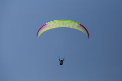 Tandem Paragliding Royalty Free Stock Photo