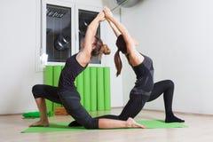 Tandem yoga Royalty Free Stock Photography
