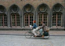 tandemcykel royaltyfria foton