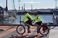Tandemowy bicykl Obraz Royalty Free