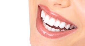 Tanden en glimlach Stock Afbeeldingen