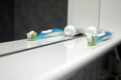 Tandenborstel stock fotografie