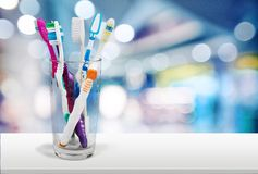 Tandenborstel Stock Afbeelding