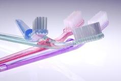 Tandenborstels Royalty-vrije Stock Afbeelding