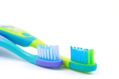 Tandenborstels Royalty-vrije Stock Afbeeldingen