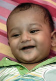 Tandenloze glimlach Stock Fotografie