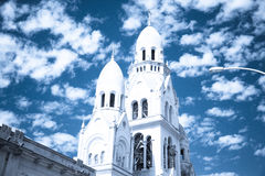 Tandil-Kirche Lizenzfreies Stockfoto
