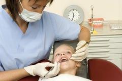 tandläkare Arkivfoton