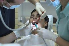 tandläkare royaltyfri foto