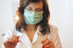 tandläkare Arkivbilder