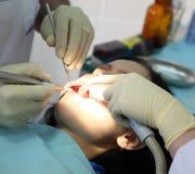 tandläkare Arkivbild