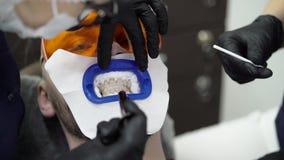 Tandläkareblekmedeltänder för patient arkivfilmer