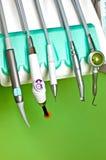 Tandläkaren bearbetar Royaltyfria Foton