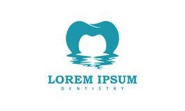 Tandläkekonst Logo Iconic stock illustrationer