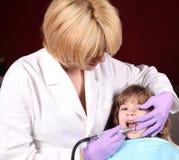 tandläkare Royaltyfri Fotografi