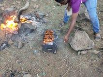 Tandoor жареного цыпленка стоковые изображения