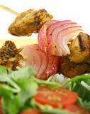 tandoori κοτόπουλου kebabs Στοκ Εικόνα