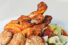 tandoori σαλάτας κοτόπουλου Στοκ Εικόνες