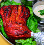 tandoori цыпленка стоковое изображение