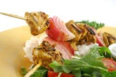 tandoori 2 οβελιδίων κοτόπουλου Στοκ Φωτογραφίες