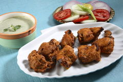 Tandoori chicken. Indian tandoori chicken studio shot Stock Photo