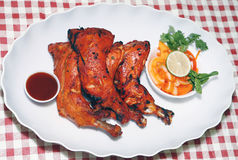 Tandoori chicken legs Royalty Free Stock Photos