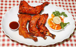 Tandoori chicken legs Stock Image