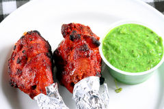 Tandoori chicken legs Royalty Free Stock Photography