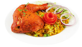 Tandoori chicken legs combo Royalty Free Stock Photography