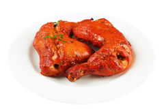 Tandoori chicken legs Royalty Free Stock Images