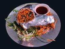 Tandoori Chicken Roll stock photography